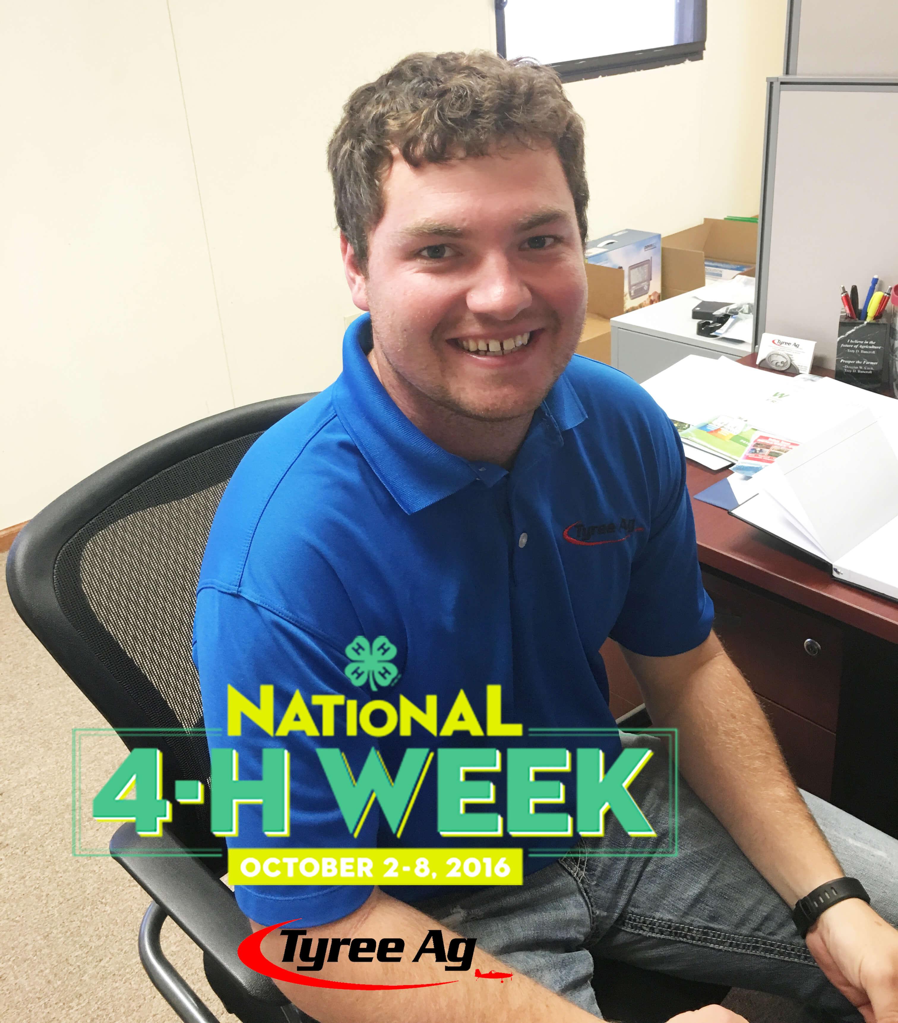 Garrett Reiss National 4-H Week