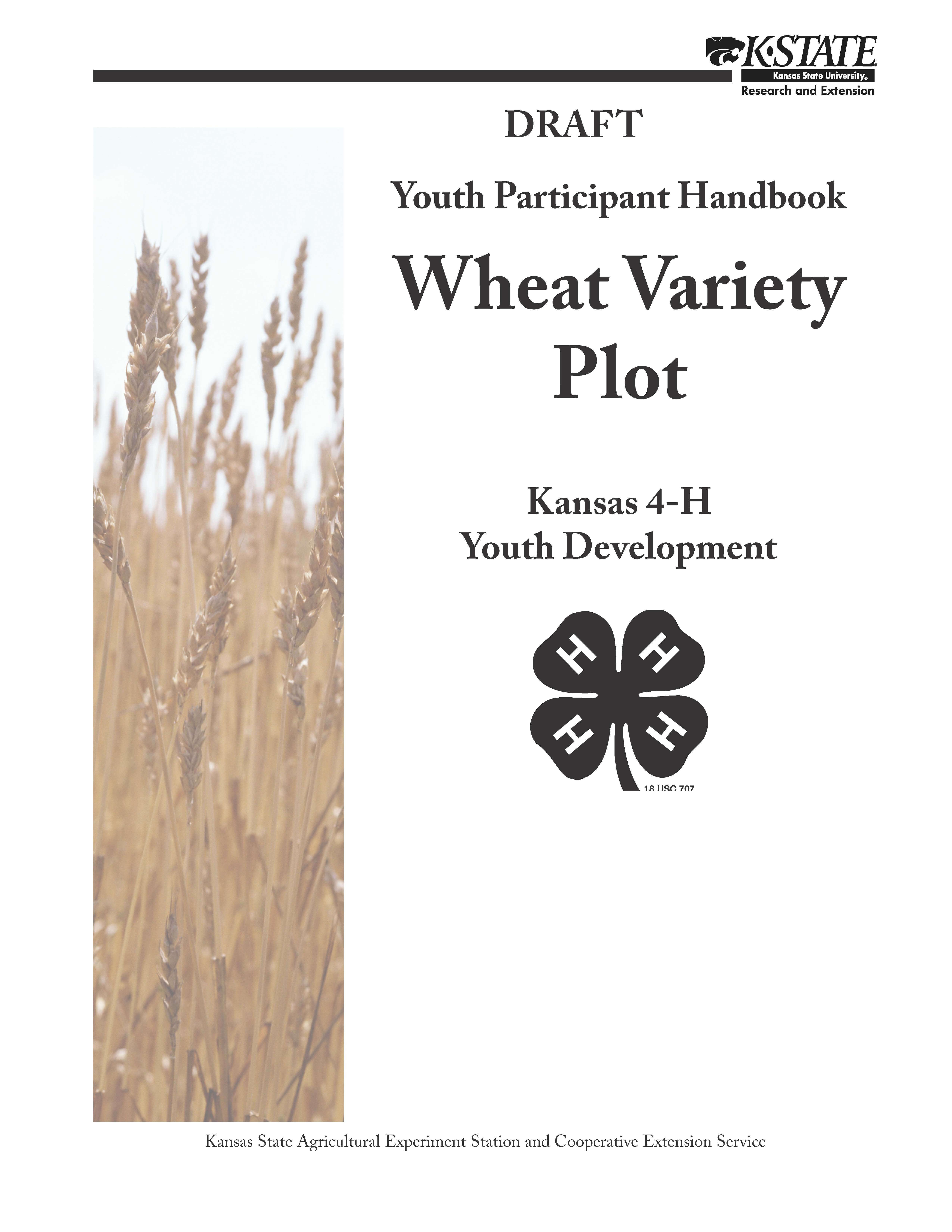 Wheat Variety Plot Photo